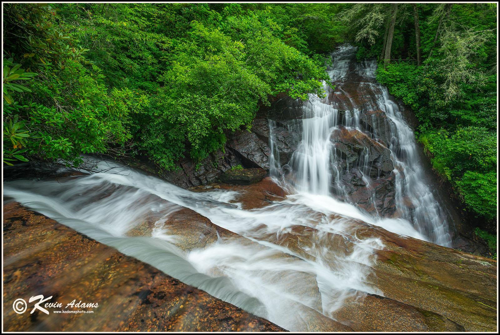 View of Batson Creek Falls