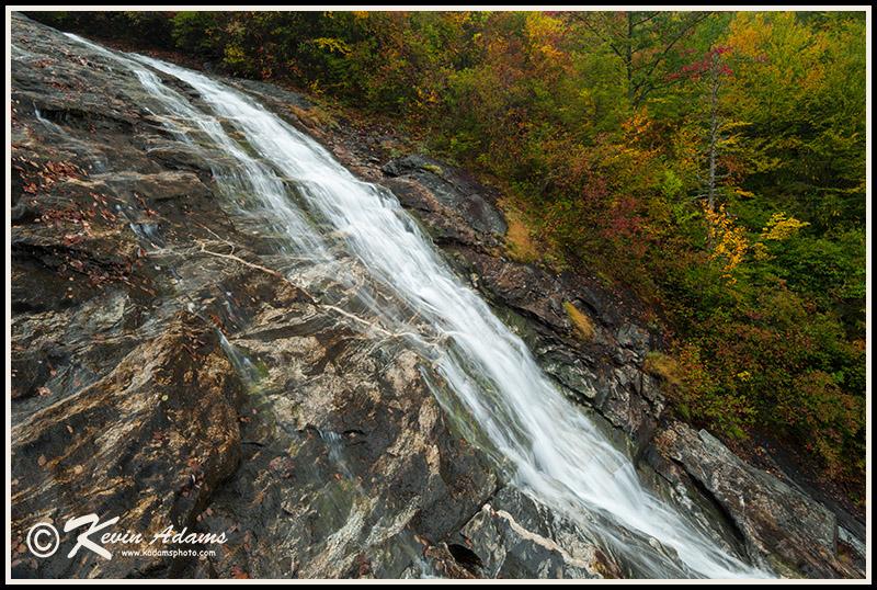 Waterfall on Flat Laurel Creek