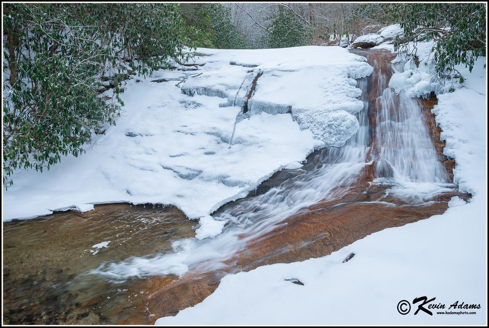 Buckeye Creek Falls