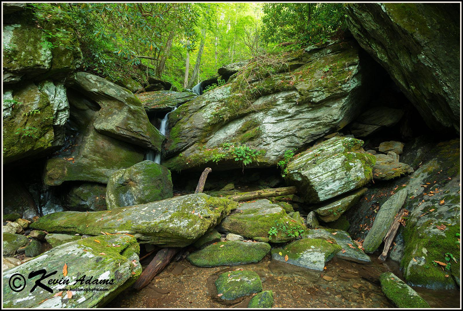Inside Passage Falls