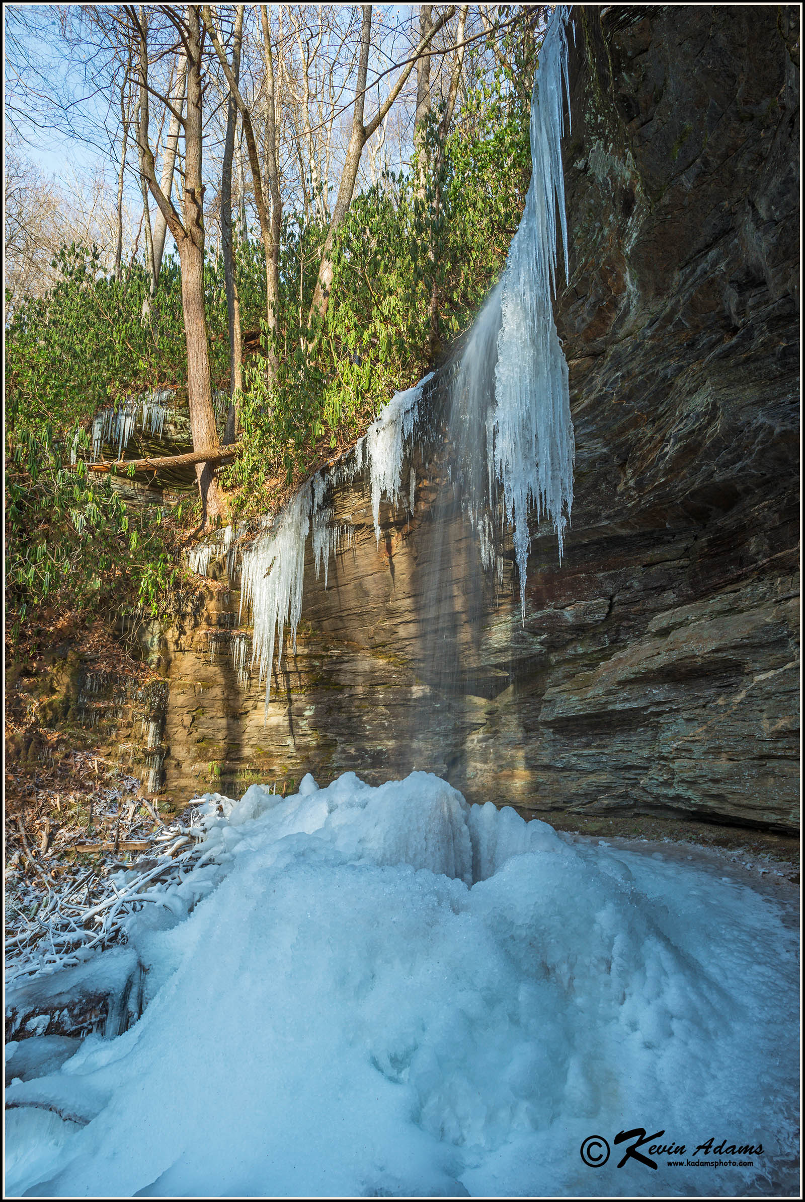 Little Moore Cove Falls