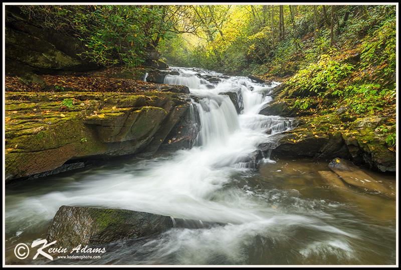 Small waterfall on Carson Creek